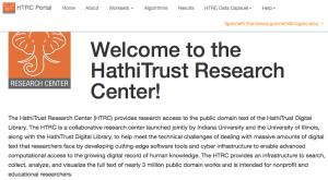 HTRC Portal